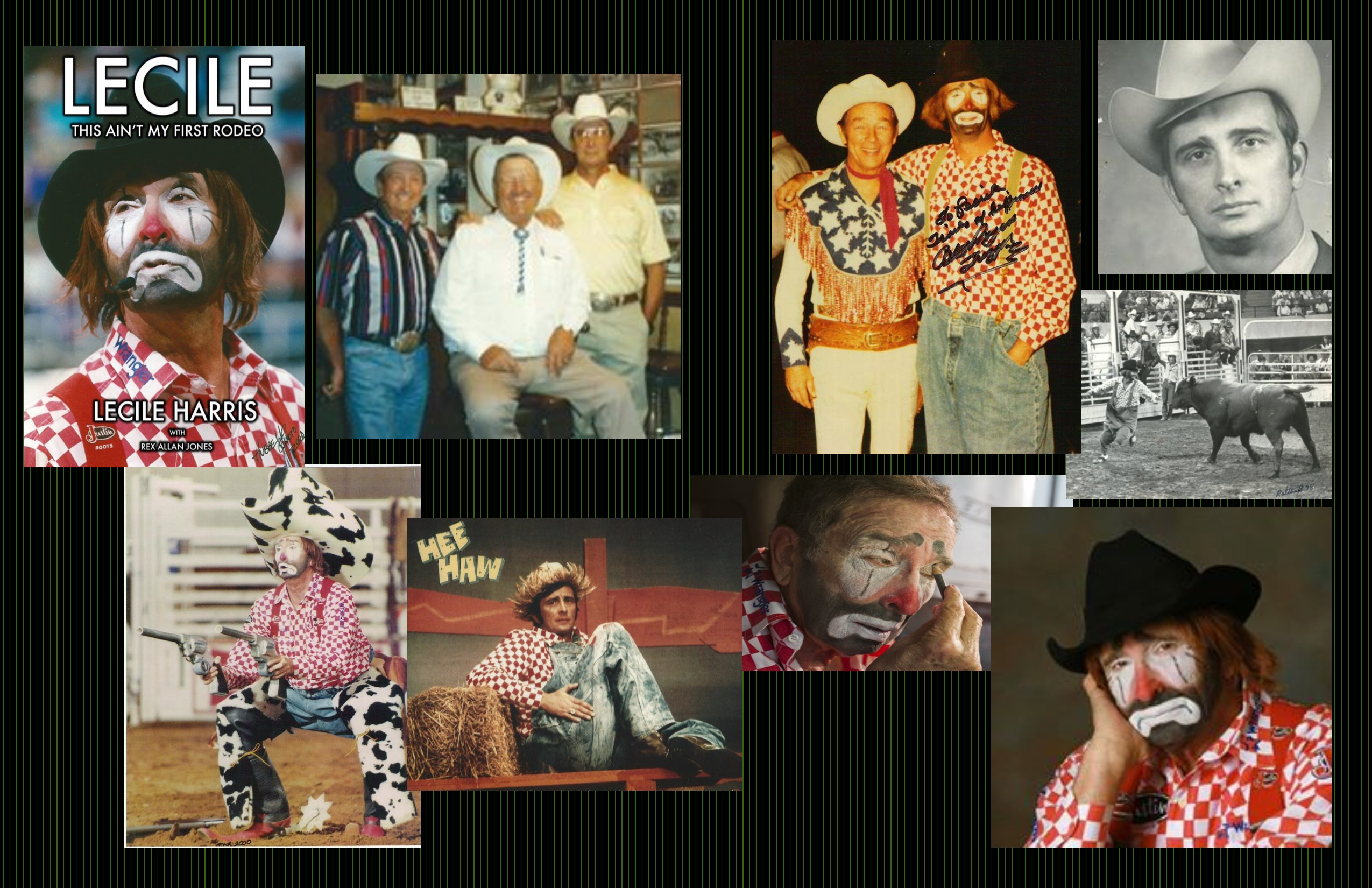 Pro Rodeo Hall of Fame Clown-Lecile Harris